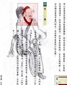 孟子搭女友_课本涂鸦