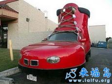 汽车与鞋的创意1
