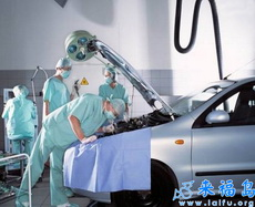 汽车生病了需要治疗