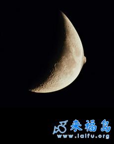 邪恶的夏夜月亮