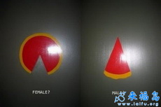 极具内涵厕所男女标志