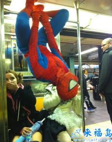 蜘蛛侠你还需要坐地铁吗
