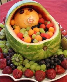 好彪悍的水果拼盤~~~~