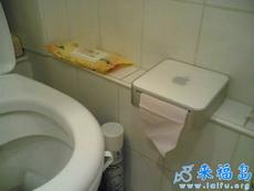 果粉们的厕纸盒