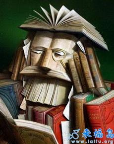 真正的思考着浑身都是书
