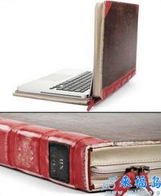 帅气的复古笔记本包