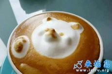 这么可爱的咖啡,哪舍得喝啊