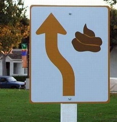 Go Straight And Poo Poo.