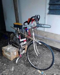 电锯杀人狂用的自行车