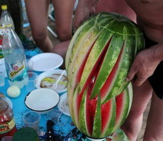 Creative Melon Carving