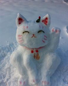 堆雪人高手啊