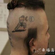 这发型看得出来他是真游戏迷