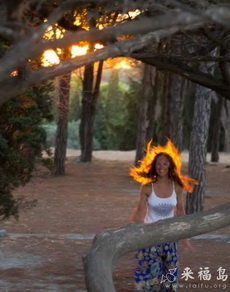 孩子淡定,哪里来这么大火