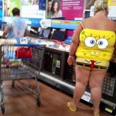 Spongebob Dress Fail