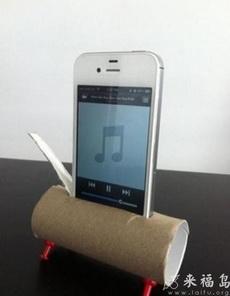 自制iPhone音乐放大器