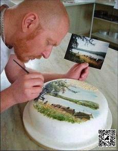 艺术家做蛋糕,真是逆天