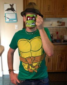 没错,我就是忍者神龟