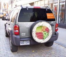 Car Guerrilla Marketing