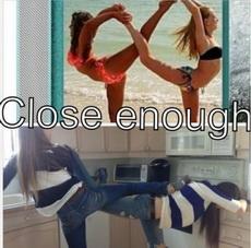 Close enough....