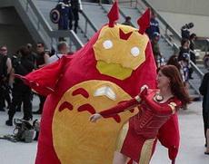 龙猫版钢铁侠真是萌翻了