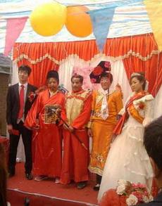 你们真心是来参加婚礼的吗?