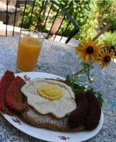 织出来的早餐