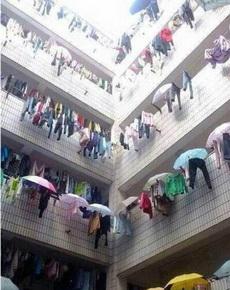 教你怎么在下雨天晾衣服