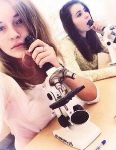 显微镜的错误用法