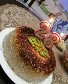 28岁的生日蛋糕,感觉有点硬