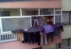 雨天想晒衣服咋办?