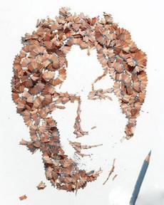 铅笔屑的艺术