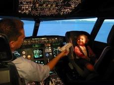 奶爸飞行员,麻烦你认真一点好吗!