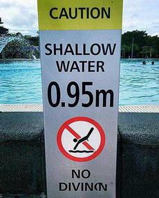 是不準男士游泳嗎?