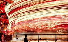 超长时间曝光拍下的旋转木马…这爆棚的中二酷炫感