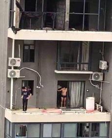 早晨起来一脸懵逼,我擦,我的阳台呢