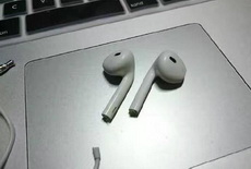 已经拿到iPhone7的无线耳机了,挺鸡肋的,没声儿