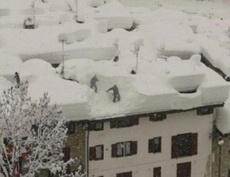 这雪下得有点大了!