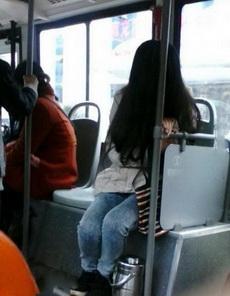 上公交車一抬頭嚇死勞資了