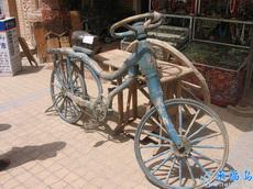 破自行车也能有方向盘?