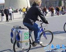 自行車車載低音炮