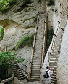 這應該是最陡的梯子了吧