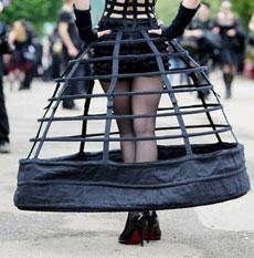 Jaula o vestido.