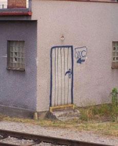 奇怪的公厕
