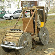 Stone Age buggy