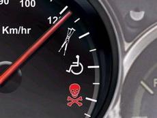 据说为了提醒广大机动车驾驶者不要超速,时速表以后要改成这样了