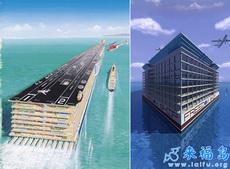 未來的海上城市