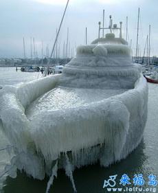 让你见识下真正的天寒地冻