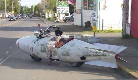 绝对拉风的摩托车