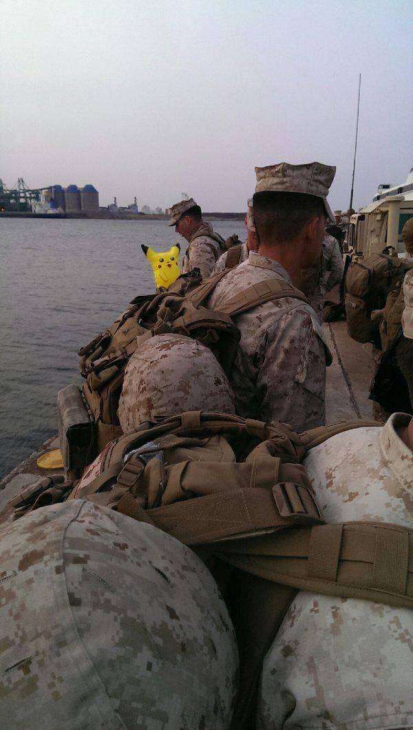 他們在軍隊里藏了大規模殺傷性武器!