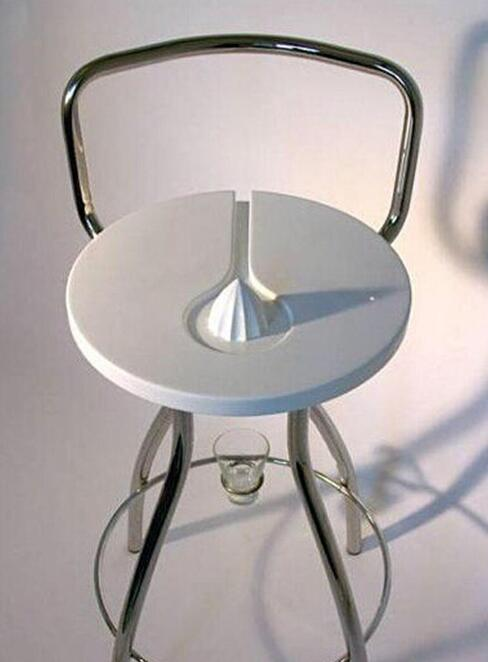 这到底是榨汁机还是椅子?[奇闻怪事]